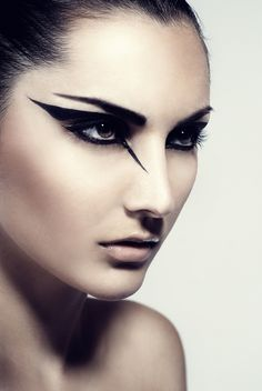 Simple warrior makeup for females - Google Search