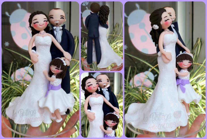 """cake toppers """"in famiglia"""""""