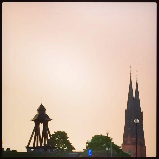 Uppsala domkyrka och Gunillalklockan