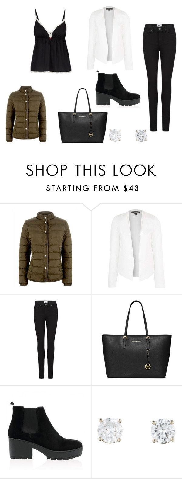 """""""outfit #3"""" by mariachun on Polyvore featuring Jaeger, Topshop, Paige Denim and MICHAEL Michael Kors"""
