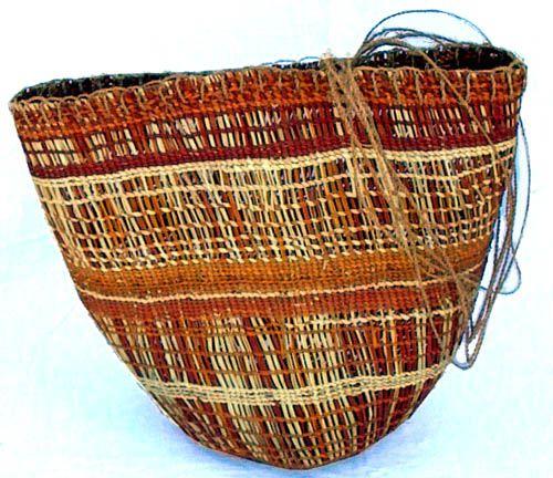 Basket weaving aboriginal : Aboriginal baskets and bowls