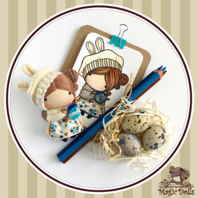 664 отметок «Нравится», 8 комментариев — @magic__dolls в Instagram: «Ma Petite Poupee - Beige Bunny  (for example/для примера )  h-3,54 inches (9 cm)  manufacturing in…»