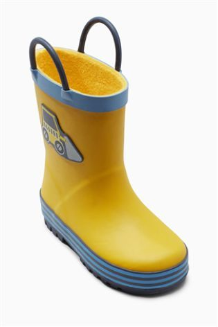 Buy Rubber Handle Wellies (Younger Boys) online today at Next: Spain