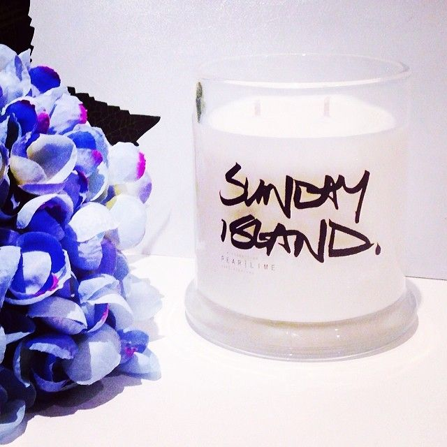 The SCollection   LIMITED EDITION SUNDAY ISLAND CANDLES Soy Candles Range