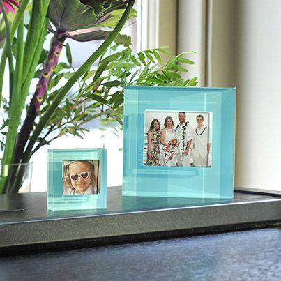 An exciting twist on classic Spaceform design, our block colour frames allow you to pick the perfect colour and size to match your special photographs. Our baby blue frames use an iconic colour to a beautiful effect and can be the perfect setting for a picture of a little one. #Love #Gift #PhotoFrame #Spaceform #London