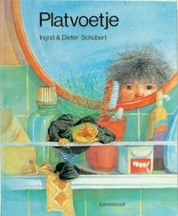 Ingrid & Dieter Schubert.  Platvoetje. Germany. Children's books with beautiful drawings.