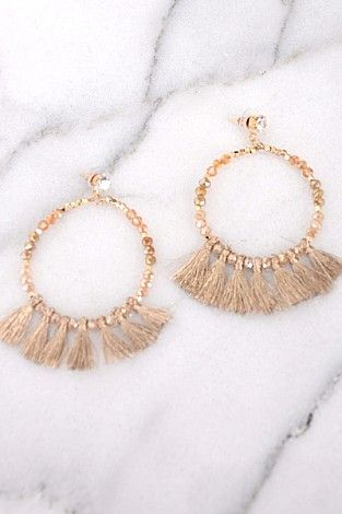 Outfit Maker Earring, Gold :: NEW ARRIVALS :: The Blue Door Boutique