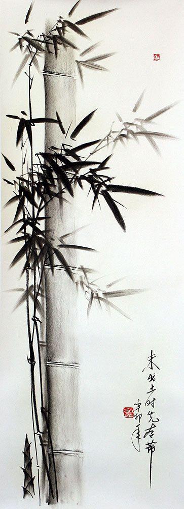bamboo drawing - photo #34