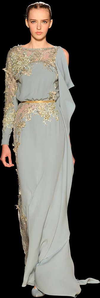ELIE SAAB - Haute Couture - Fall Winter 2012-2013 (I would do ANYTHING for an Elie Saab gown.)