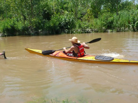 El Dorado Kayak - tours from Tigre of Parana Delta.