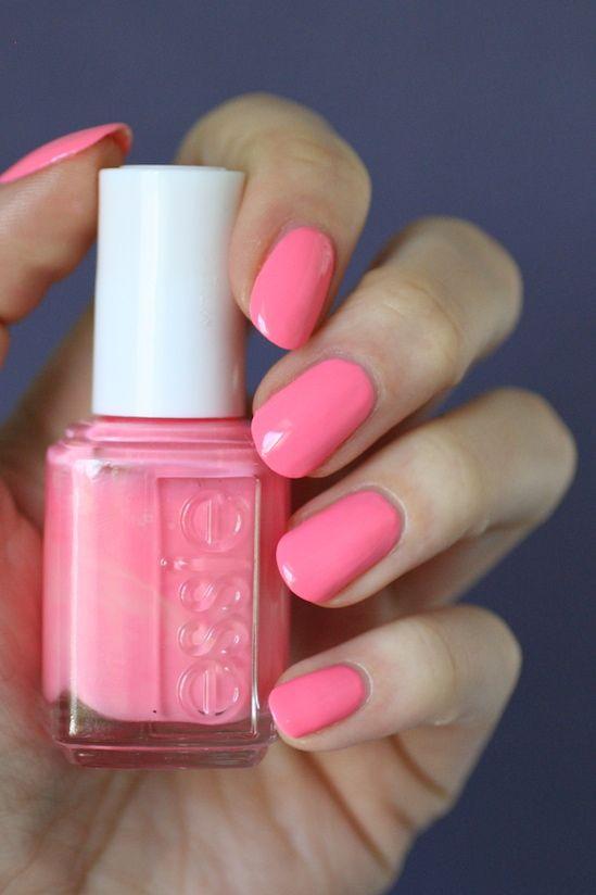 Peachy pink coral.
