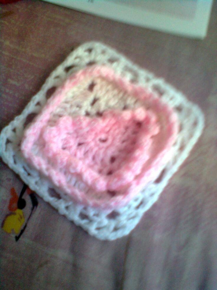 MY PINK HEART BLOCK