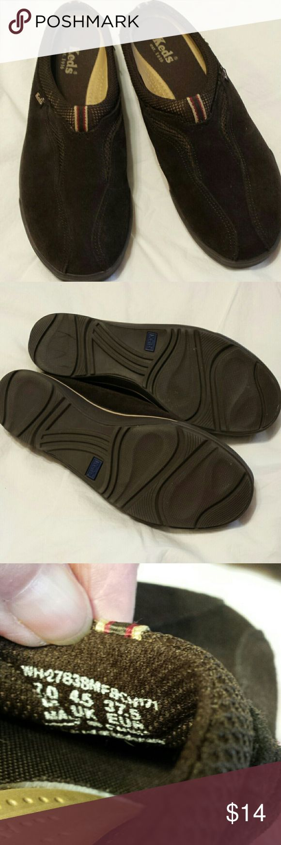 KEDS SLIP ONS Great condition, comfortable slip ons. Keds Shoes Flats & Loafers