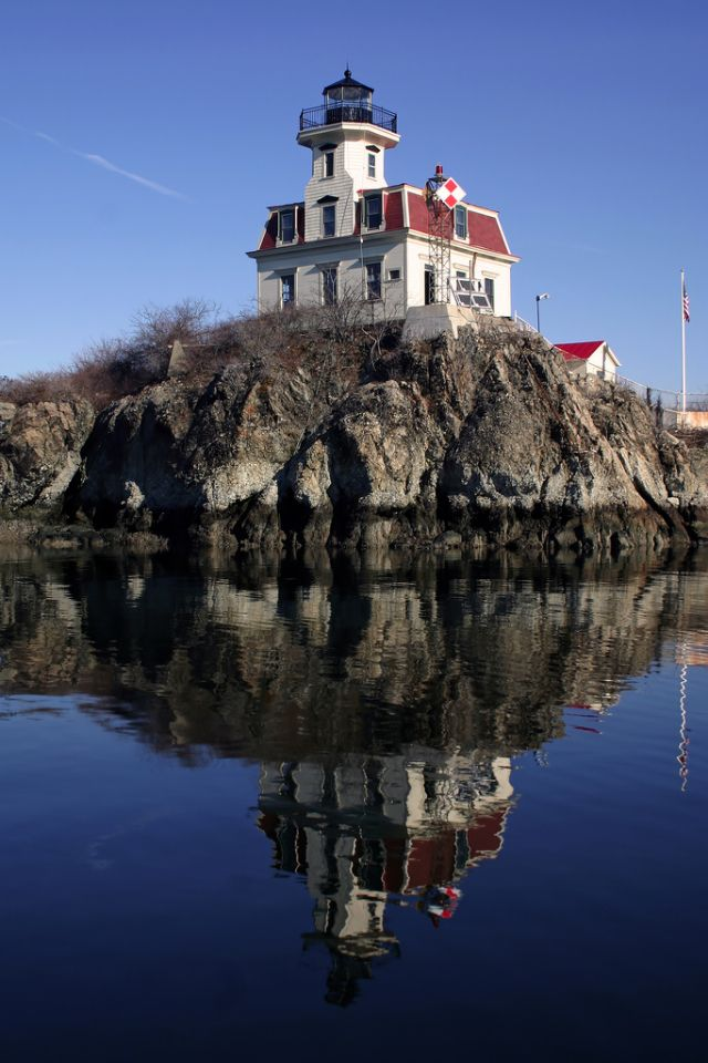 Pomham Rocks Lighthouse Rhode Island 447 best
