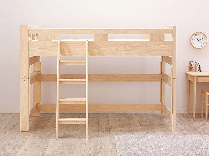 ロフトベッド ロフトベット ロータイプ 木製 宮付き ロフト ベッド KOTOKA(コトカ) 搬入設置無料 :1088015:家具通販のスーパーカグ - 通販 - Yahoo!ショッピング
