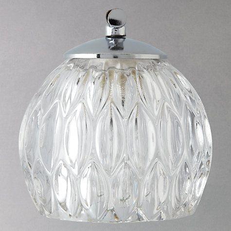 Buy John Lewis Toledo 1 Light Crystal Bathroom Wall Light Online at johnlewis.com