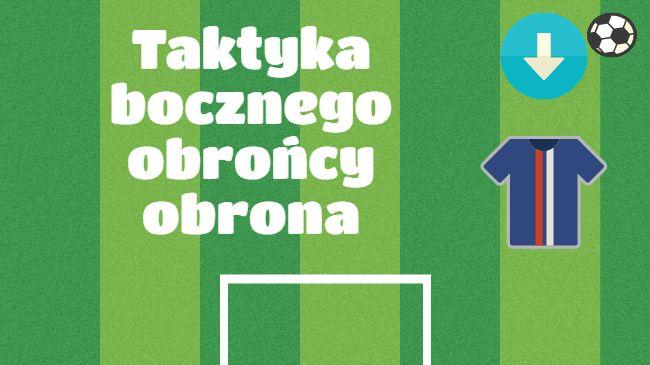 Wskazówki dotyczące taktyki bocznego obrońcy w defensywie • Taktyka w piłce nożnej • Kilka rad dla bocznego obrońcy • Wejdź i zobacz #pilkanozna #futbol #sport #taktyka #polska