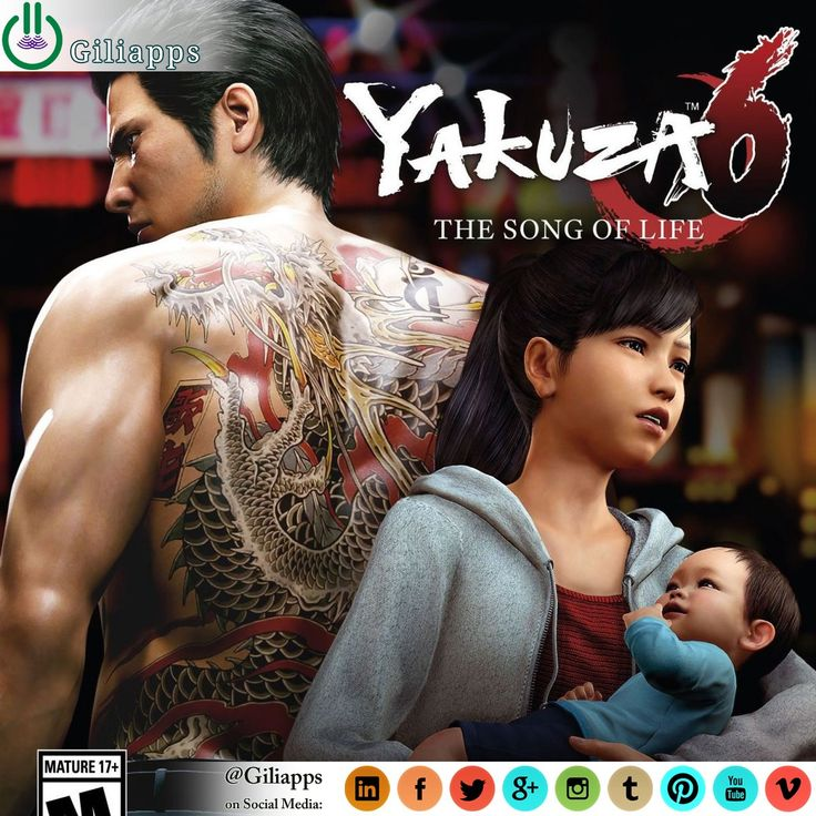 Yakuza 6: The Song of Life is an action-adventure video game developed and published by Sega for PlayStation 4. The game was released in Japan on December 8, 2016 and is scheduled to be released in the rest of the world on March 20, 2018. ... ● Read Full Article: giliapps.com #giliapps #game #gamer #gaming #video_game #trailer #requirements #yakuza_6