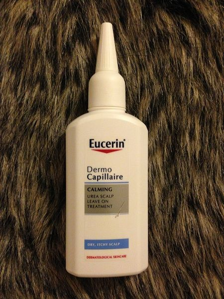 Eurcerin Calming Scalp Treatment - perfect for itchy/flaky scalps.