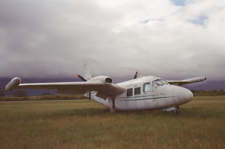 Piaggio P.166. Grounded, abandoned. Stellenbosch Flying Club