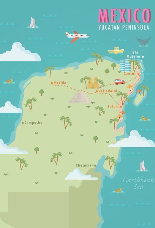 Mexico Yucatan Peninsula Map Printable Wall Art, Decor, Country Map on playa del carmen map, oaxaca map, merida map, tierra del fuego map, acapulco map, puerto vallarta map, honduras map, central america map, chichen itza map, ixtapa map, andes mountains map, cancun map, lesser antilles map, peru map, isla mujeres map, los cabos map, bay of campeche map, llanos on map, riviera maya map, mexico map, rio grande map, greater antilles map, mexican peninsula map, latin america map, cancun hotel map, playacar map, mexico city map, cozumel map, riviera maya hotel map, greenland map, rocky mountains on map, dominican republic map,