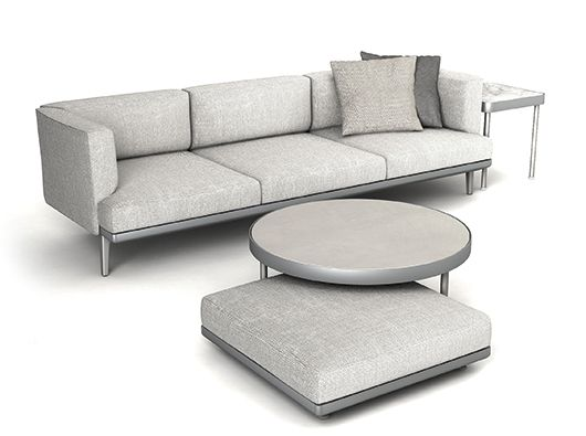 Boma Collection by Rodolfo Dordoni for Kettal. An outdoor sofa ...