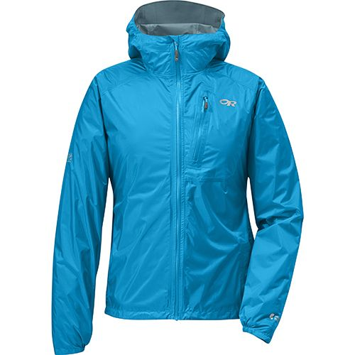 OR Helium II Women's Jacket - Built for flash-storm protection, the 100% waterproof, super-breathable Helium II weighs an incredibly light 5.5 ounces.