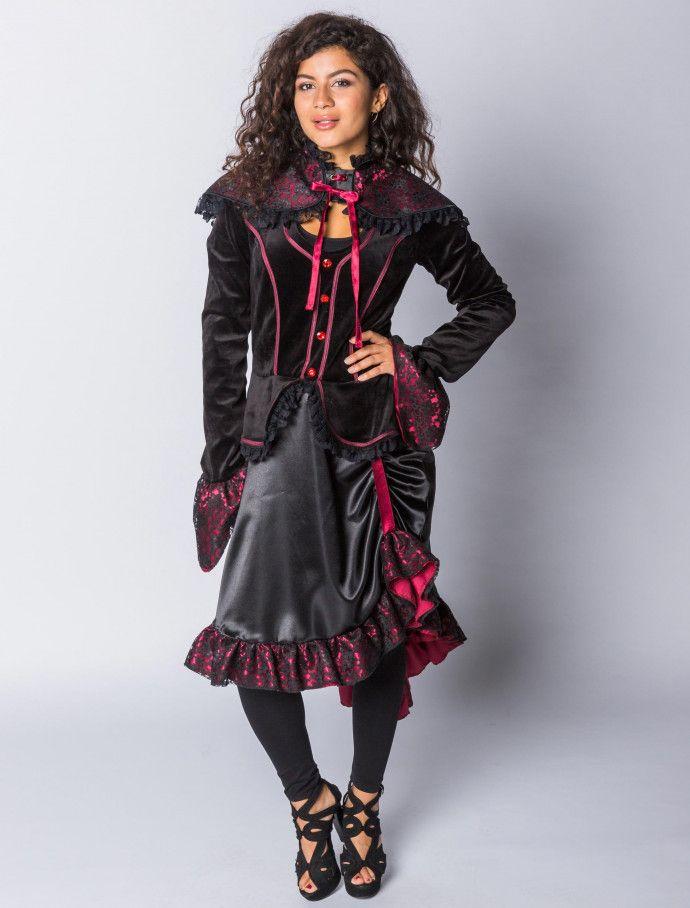Kleid Steampunk Victoria | Deiters  |  Damen  | Kostüm | Karneval | Fasching | Outfit | Mottoparty | Halloween