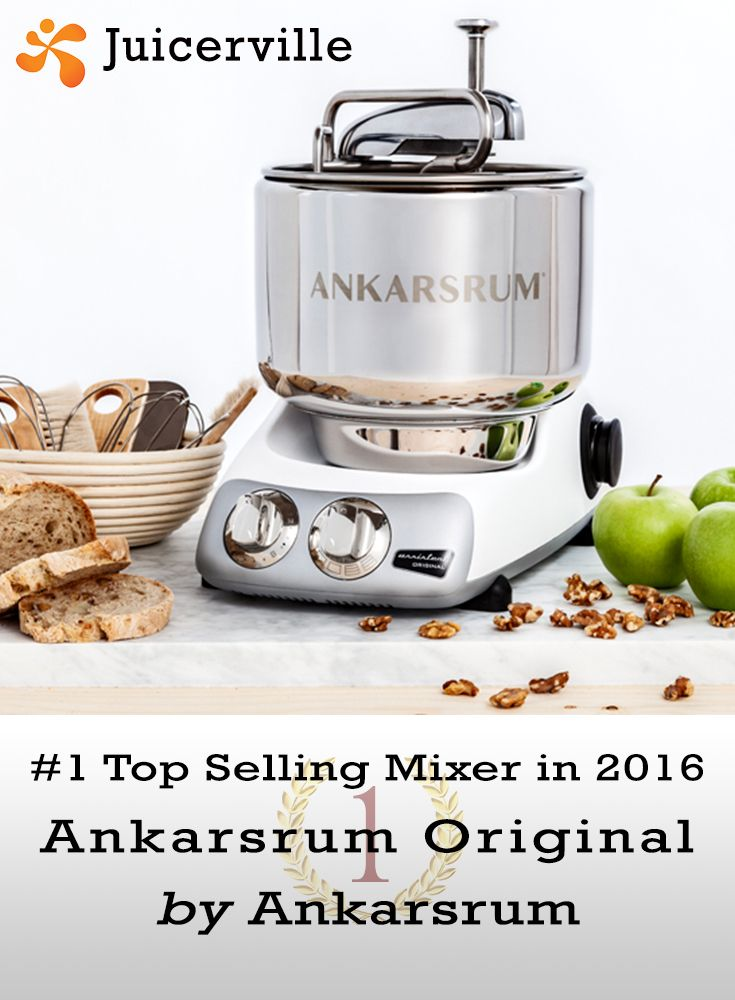 Best of 2016! Nothing compares to the quality of the Ankarsrum Original. Best selling mixer of last year.