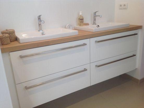 salle de bain - Salle De Bain Grise Et Bois