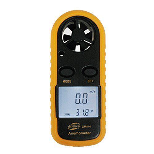 BENETECH GM816 LCD Digital Windgeschwindigkeit Messger�t Windmessr Temperaturmessung Anemometer Luft Geschwindigkeit Messung