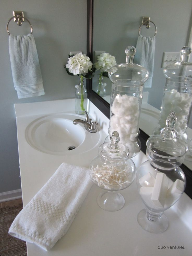 25 best ideas about apothecary jars bathroom on pinterest - Ideas for bathroom decorating themes ...