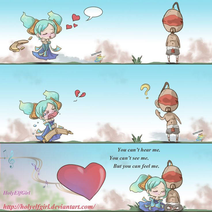 You can't - Colored Version by *HolyElfGirl on deviantART | League of Legends | Love