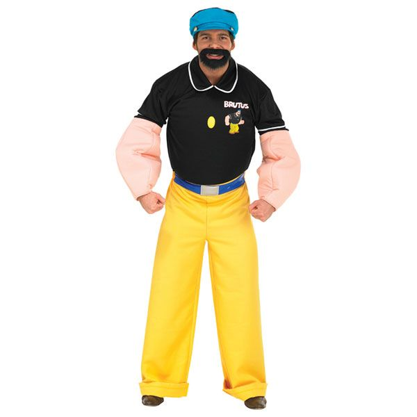 #Popeye, #Brutus #Deluxe #Costume http://bryonytheatrical.co.uk/popeye-brutus-deluxe-costume-4317-p.asp