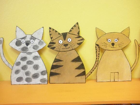 Kočky z kartonu