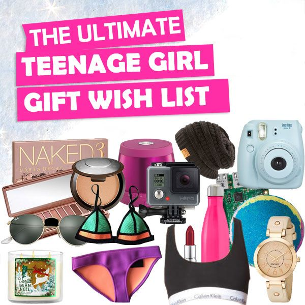 Xmas gift lists for teens