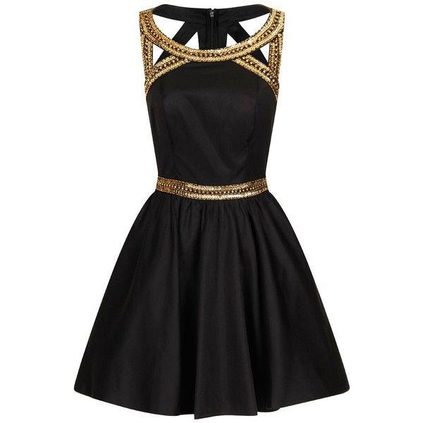Black Cocktail Party Dress