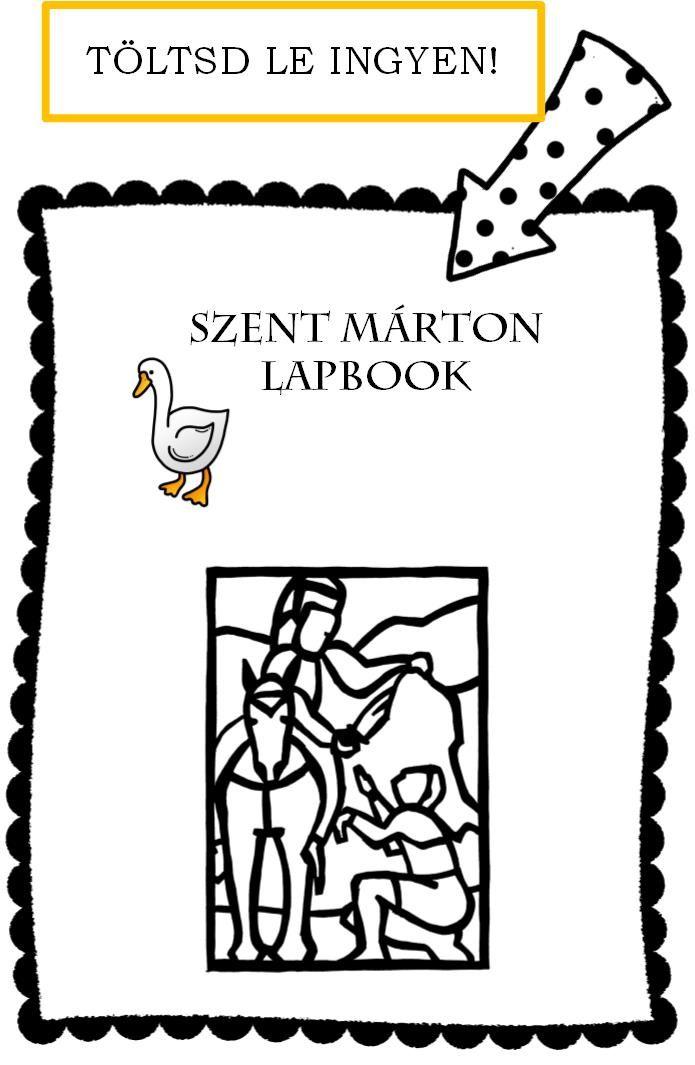 Szent Márton lapbook