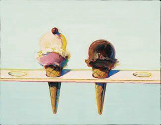 My Artist of the Day: Wayne Thiebaud