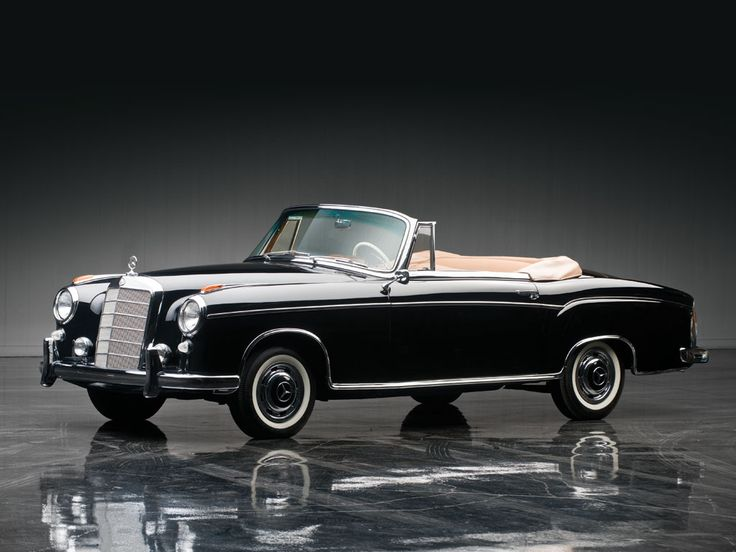 1957 mercedes benz 220s cabriolet the don davis collection 2013 rm auctions a mercedes. Black Bedroom Furniture Sets. Home Design Ideas