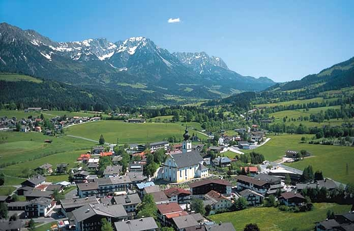 Soll, the prettiest village in Austria where I went on my first ever holiday in 198?