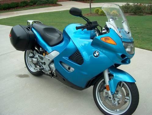 2004 BMW K 1200 RS K1200RS Capri Blue THE ULTIMATE