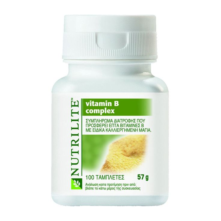 NUTRILITE Vitamin B Complex NUTRILITE Vitamin B Complex is a nutritionally balanced formula of seven essential B vitamins, some of them predominantly from a natural source. https://home-beauty.org/amway/nutrilite-vitamin-b-complex/