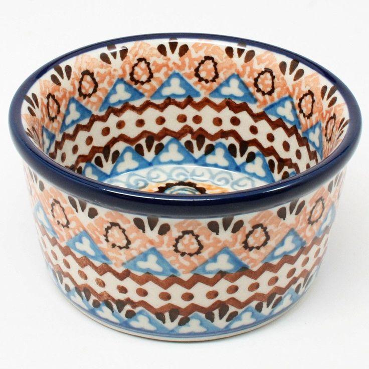 Custard Dish / Ramekin   Polish Pottery From Polish Kitchen Online