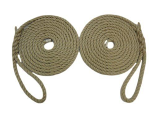 RopeServices UK 2 X 12 Mts Of 14Mm Poly Hemp Traditional Mooring Ropes,Canal Boats,Barges by RopeServices UK. RopeServices UK 2 X 12 Mts Of 14Mm Poly Hemp Traditional Mooring Ropes,Canal Boats,Barges.