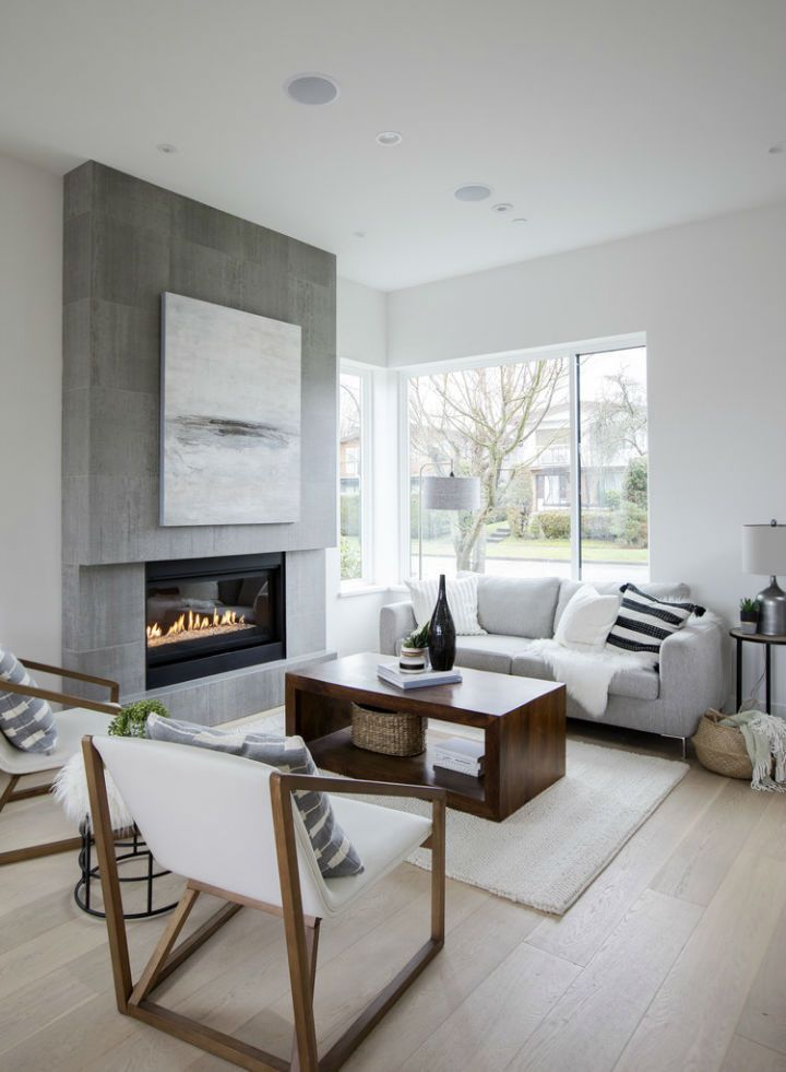 Minimalist Family Home Modern Family Rooms Modern Family Room Design Living Room Design Decor This contemporary family room design