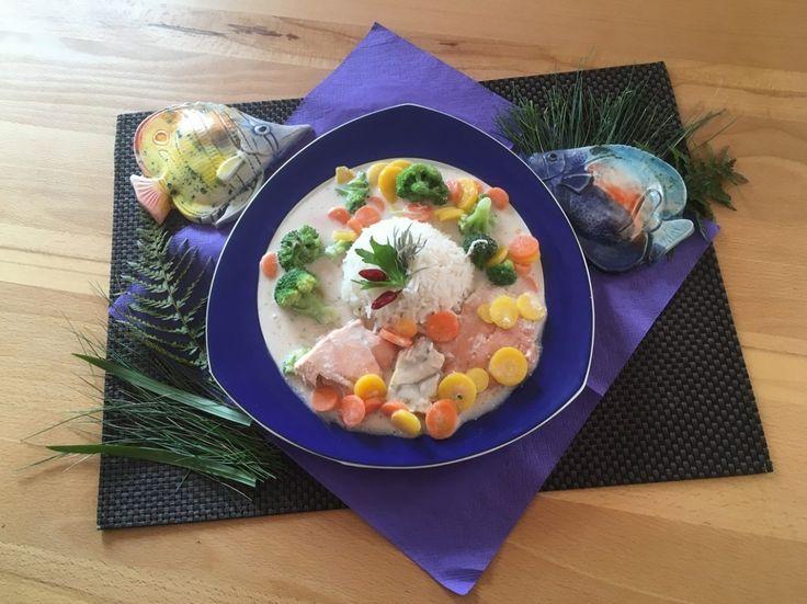 Schnelles Fischgericht  Funktioniert ohne große Vorbereitung, daher auch sehr gut für absolute Kochanfänger geeignet!  Rezept findet ihr im Link!