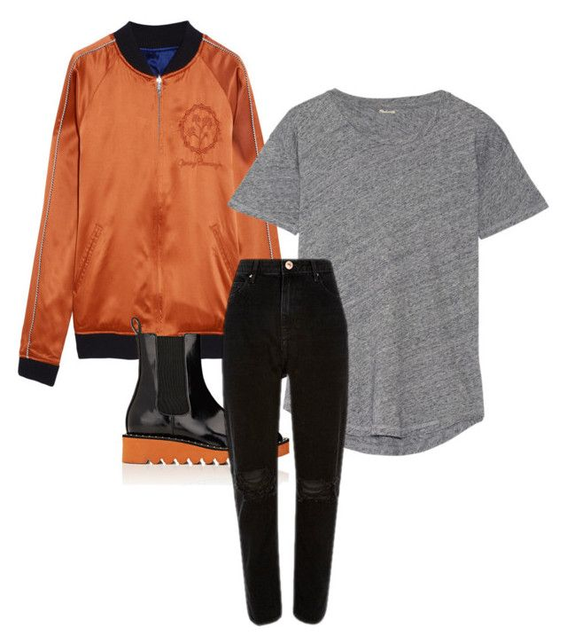 """""""Untitled #155"""" by vi-motes on Polyvore featuring Opening Ceremony, Madewell and STELLA McCARTNEY"""