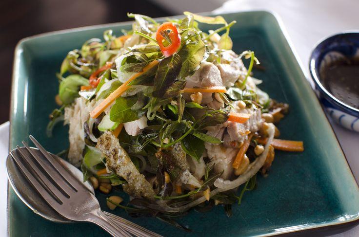 Tilapia Fish Salad: http://gustotv.com/recipes/lunch/tilapia-fish-salad/