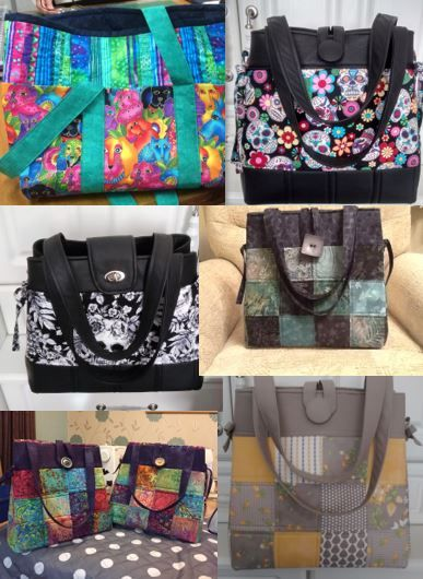 We love receiving photos of your finished work - they bring lots of inspiration! Take a look at our great range of bag patterns